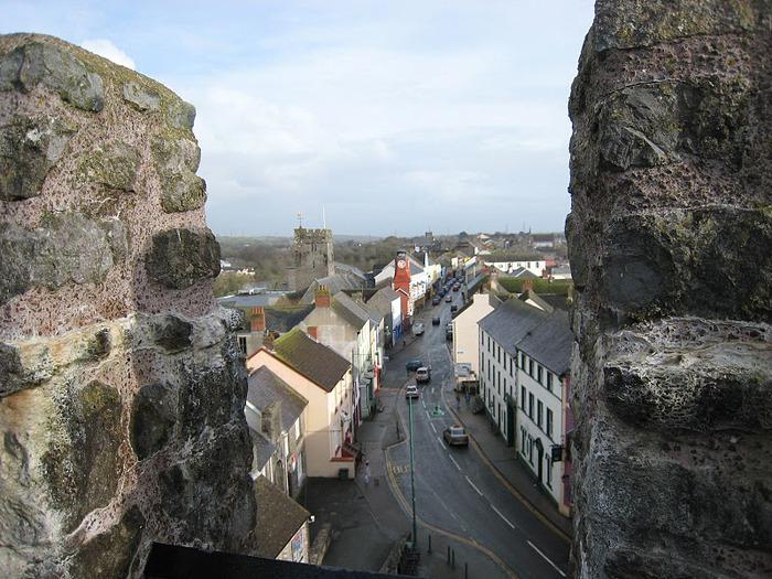 Замок Пембрук в Уэльсе 31884