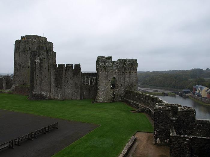 Замок Пембрук в Уэльсе 16207