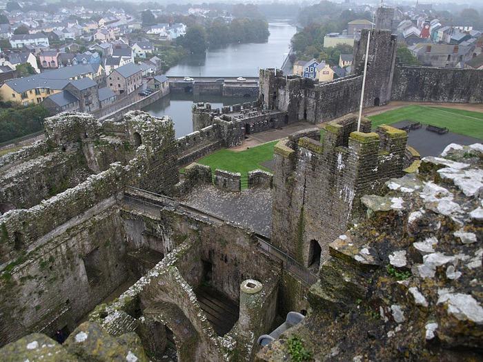 Замок Пембрук в Уэльсе 22183
