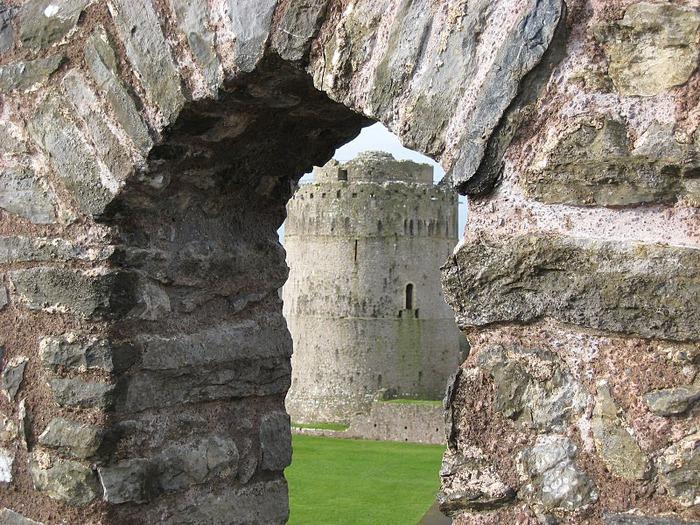 Замок Пембрук в Уэльсе 19391