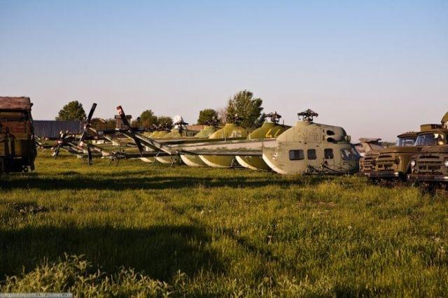 заброшенный аэродром в крыму 28