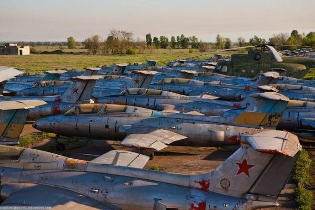 заброшенный аэродром в крыму 38