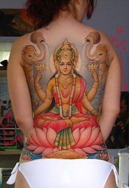 Татуировки на индийскую тематику 44