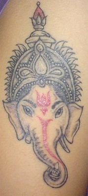 Татуировки на индийскую тематику 63