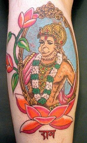 Татуировки на индийскую тематику 35