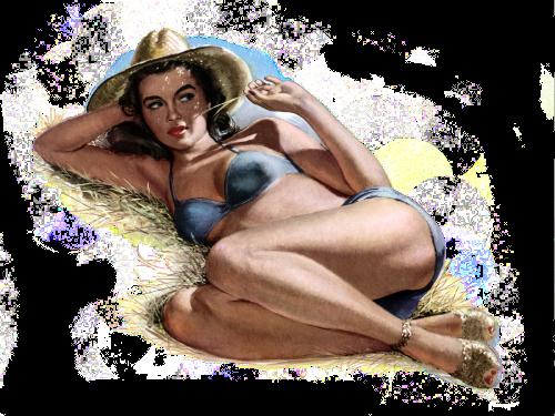 Сексуальные красотки в работах художника Fritz Willis.