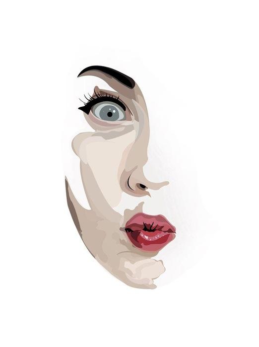 Лица от художника BOBBb12345 1