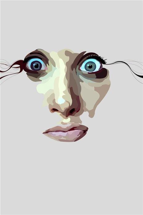 Лица от художника BOBBb12345 4