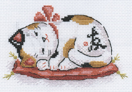 Часть 13 - Кошки Манеки-неко.