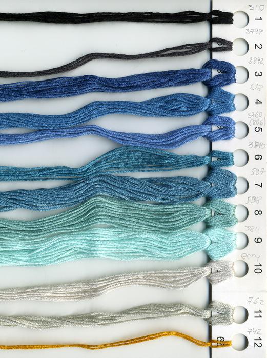 Часть 2 - схемы вышивки