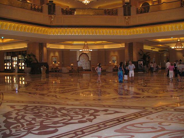 Добро пожаловать в палас-отель «Emirates Palace» 77063