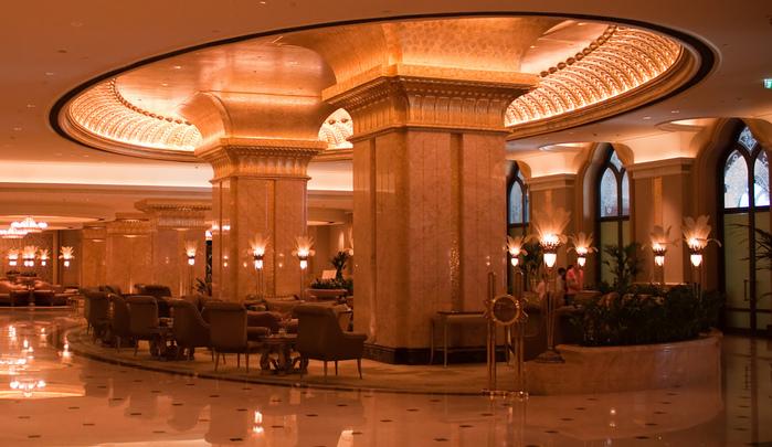 Добро пожаловать в палас-отель «Emirates Palace» 37471