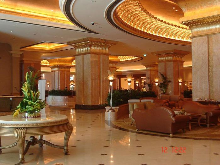 Добро пожаловать в палас-отель «Emirates Palace» 22015