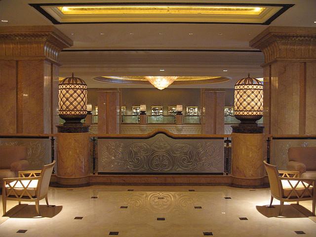 Добро пожаловать в палас-отель «Emirates Palace» 46761