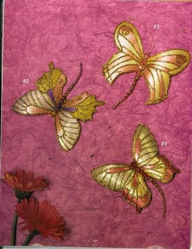 этих бабочек использовать: