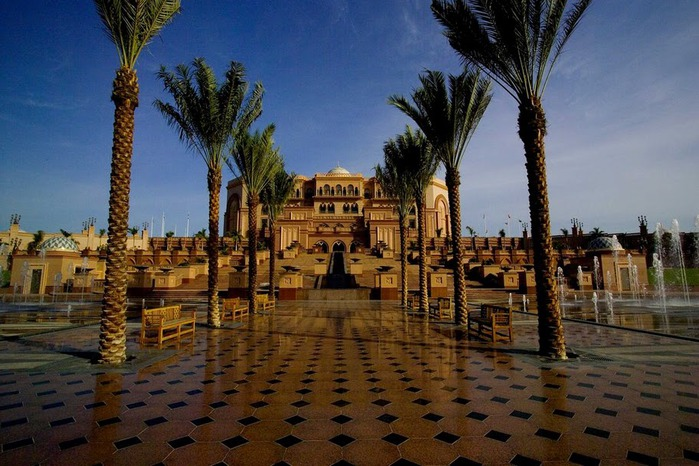 Добро пожаловать в палас-отель «Emirates Palace» 95039