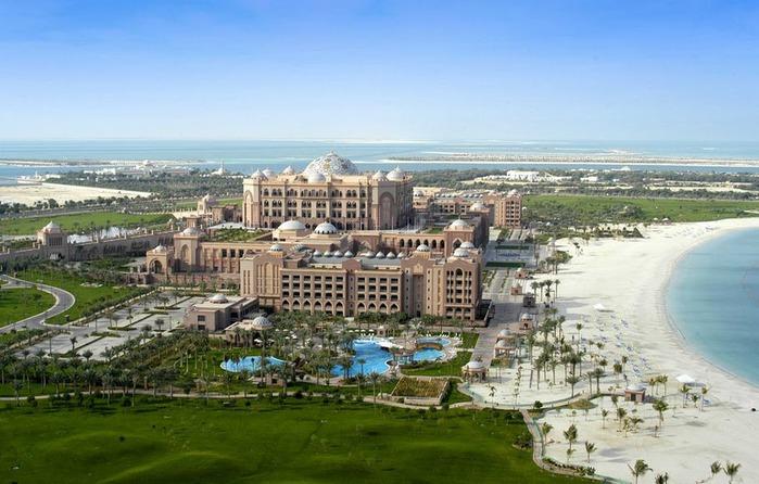 Добро пожаловать в палас-отель «Emirates Palace» 48890