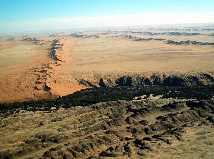 Намибия - страна двух пустынь 14880