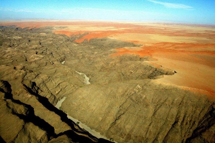 Намибия - страна двух пустынь 43012