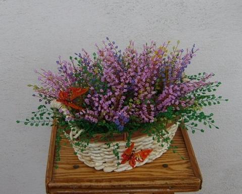 Рубрики: Цветы из бисера