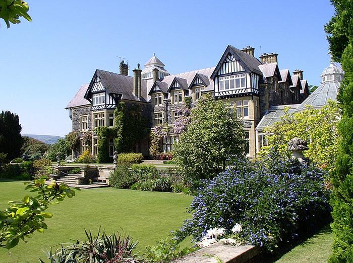 образцовый сад – волшебный Bodnant Garden 45800
