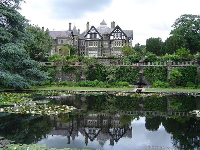 образцовый сад – волшебный Bodnant Garden 36377