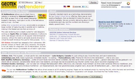 Инструменты для проверки блога на кроссбраузерность