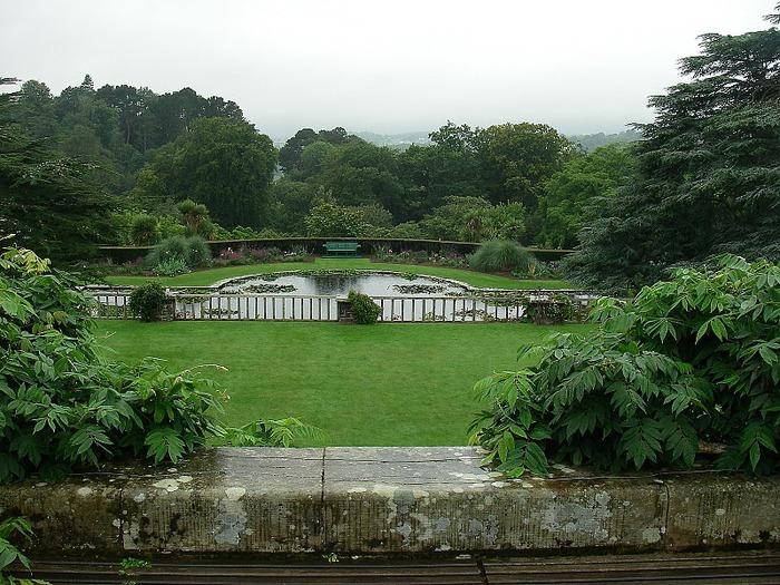 образцовый сад – волшебный Bodnant Garden 43841