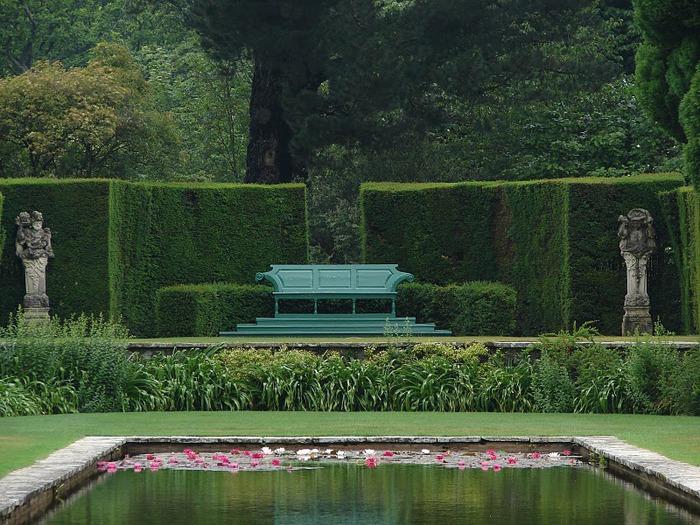 образцовый сад – волшебный Bodnant Garden 58552