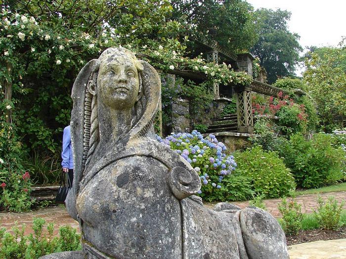 образцовый сад – волшебный Bodnant Garden 60068
