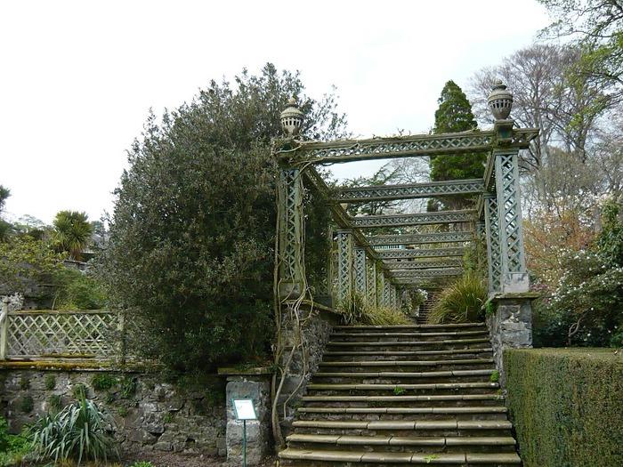 образцовый сад – волшебный Bodnant Garden 83053