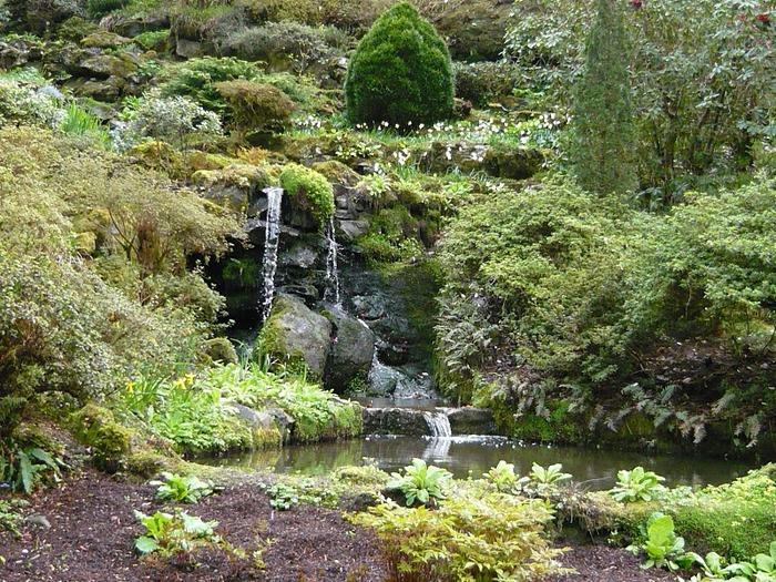 образцовый сад – волшебный Bodnant Garden 23771