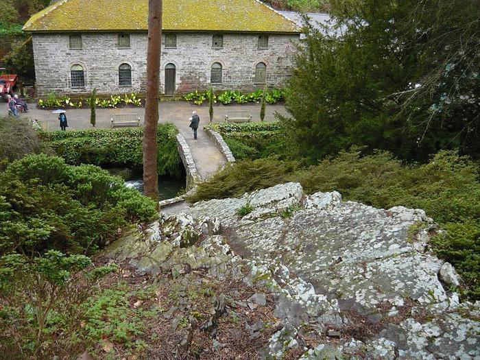 образцовый сад – волшебный Bodnant Garden 76886