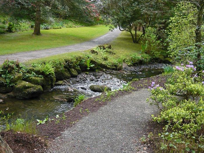 образцовый сад – волшебный Bodnant Garden 11447