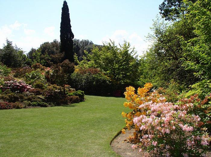 образцовый сад – волшебный Bodnant Garden 24708