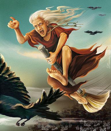 полет ведьмы (385x453, 72 Kb)