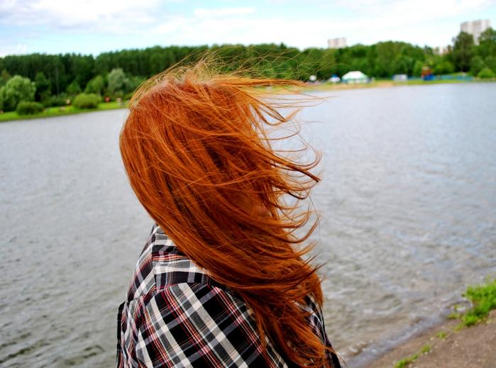 Фото девушка рыжая без лица фото 371-384