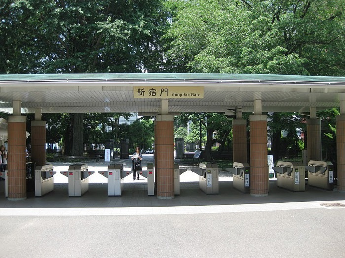 Парк Синдзюку - один из наиболее огромных парков Токио 23