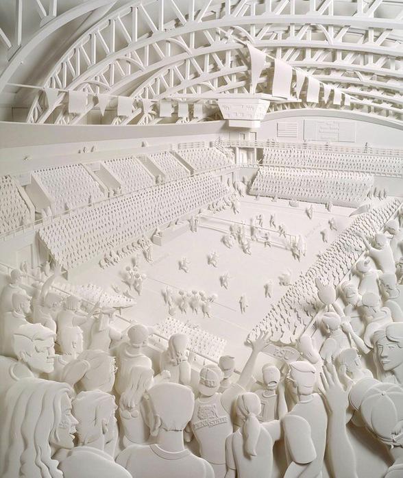 Скульптуры из бумаги от Джефа Нишинаки (JEFF NISHINAKA) 17