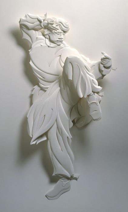 Скульптуры из бумаги от Джефа Нишинаки (JEFF NISHINAKA) 22