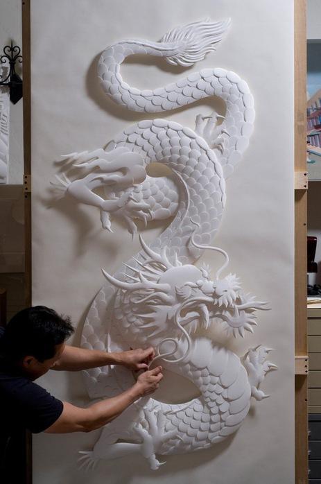 Скульптуры из бумаги от Джефа Нишинаки (JEFF NISHINAKA) 27