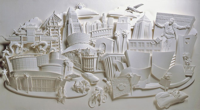 Скульптуры из бумаги от Джефа Нишинаки (JEFF NISHINAKA) 2