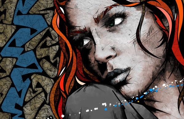 Цифровые художники рисуют цифровые картины 10