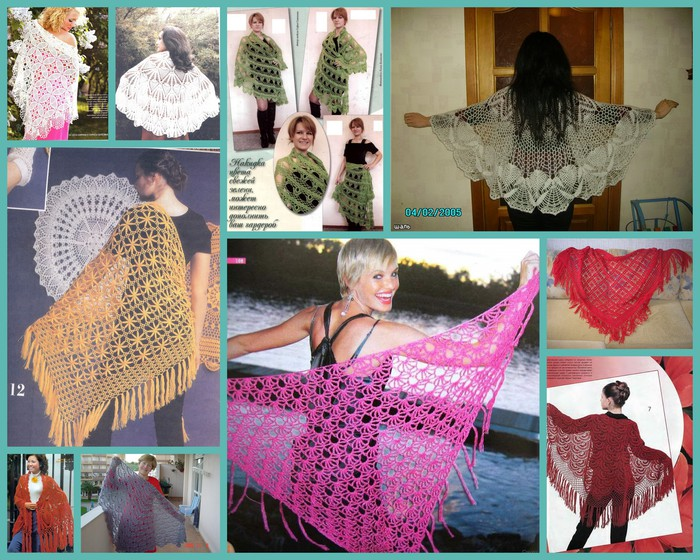 crochet beauty shawls