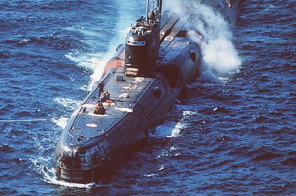 аварии атомных установок на подводных лодках