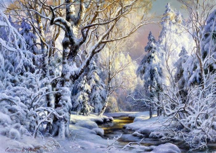 Михаил сатаров пейзажи