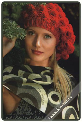 вязание спицами для детей зимних шапок и беретов. схемы вязания женских...