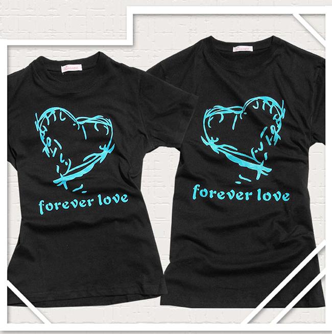 футболки с рисунками для двоих.