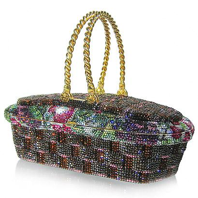 Уникальные сумочки ручной работы от Judith Leiber украшенные камнями и...