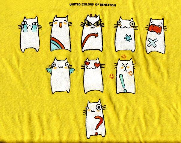Я хочу сделать себе какой-нибудь интересный принт на футболке, вот...